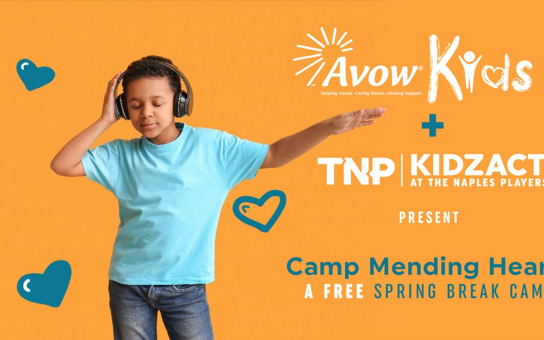 Partnership with Avow Kids Provides Free Camp For Grieving Children