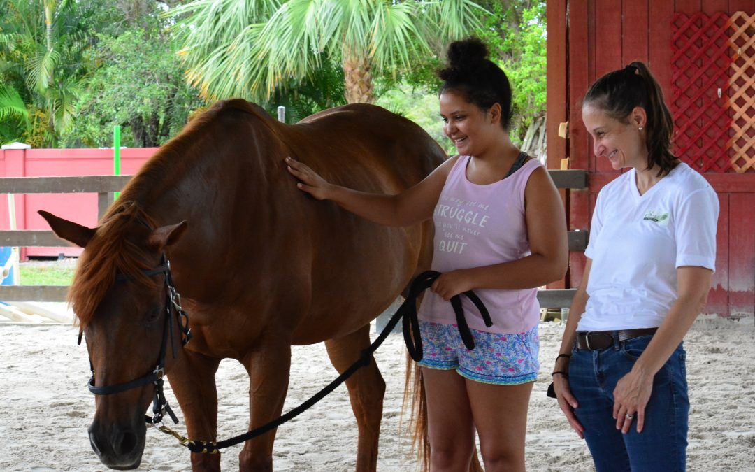 Horses, improv and counseling equals success